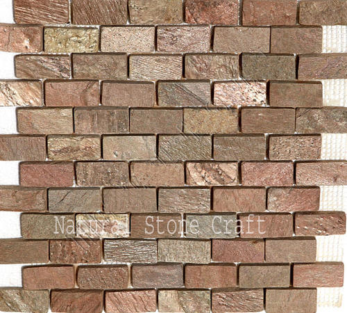 Slate Brick Wall Tiles Size 12 X 12 Inch Rs 118 Square Feet Id