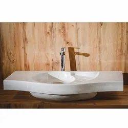 Capstona Shell White Wash Basin