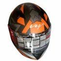 Vega Full Face Motorcycle Driving Helmet, Size: M
