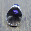 Designer 925 Sterling Silver Jewelry Amethyst Gemstone Ring Wr-5222