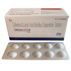 Cefixime and Lactic Acid Bacillius Dispersible Tablets