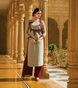 Viscose Georgette Casual Party Wear Suit Divaa103