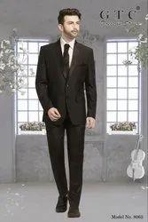 Wedding Black Men's Corporate Suit