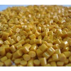 Yellow PP Granules, 25 Kg