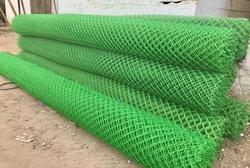Galvanized Iron Nylon Chain Link Fence