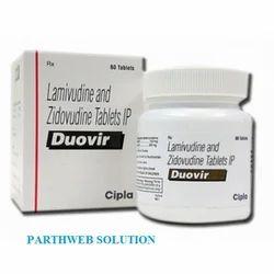 Duovir (Lamivudine, Zidovudin Tablets)
