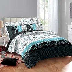 Pure Satin Fabric Designer Bed Sheet