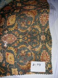 Silkina silk with digital printed fabrica