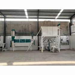 2 Ton Industrial Flour Mill Machine