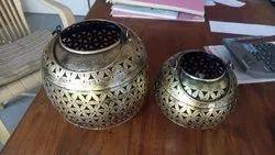 Pushpa International Table Top Decorative Iron Handi, For Decorations