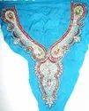 Fancy Beaded & Sequins Neckline