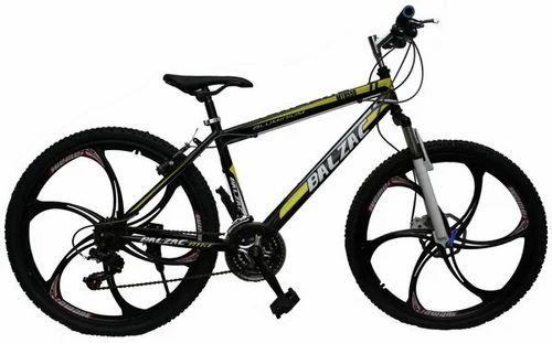 Black GoGoA1 Balzac Mountain Bicycle With High Carbon Steel Frame ...