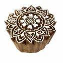 Wooden Flower Pattern Stamp