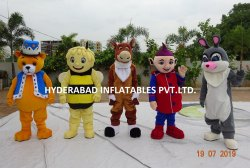 Fur Mascot Costume