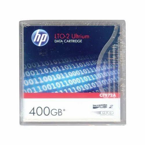 HP C7972A 400GB Data Cartridge LTO2 Tape Ultrium