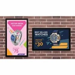 22'' Wall Mounted Digital Signage