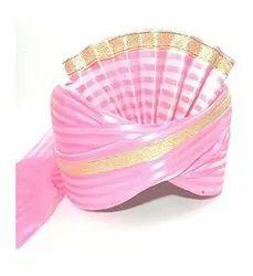 Pink Safa Pagdi for Barati