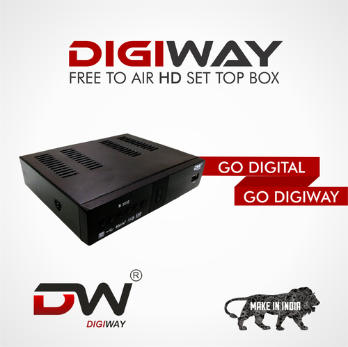Set top box-Max MPEG4 HD
