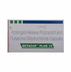 Prolonged Release Propranolol and Flunarizine Dihydrochloride Capsules