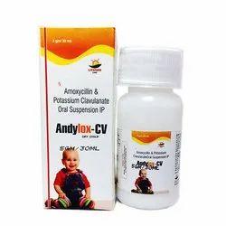 Amoxicillin And Potassium Clavulanate IP Oral Suspension