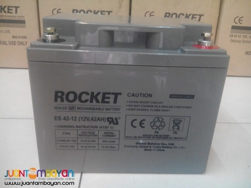 rocket battery rocket 12v 42ah battery manufacturer from. Black Bedroom Furniture Sets. Home Design Ideas