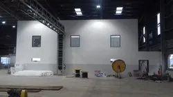 Prefab White Concrete Warehouse Industrial Construction Service, in India