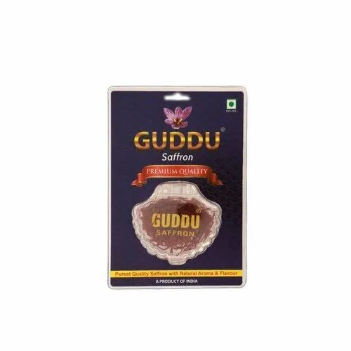 Guddu Premium Quality Saffron, Packaging Size: 5x4=20 Gm, Packaging Type: Packet