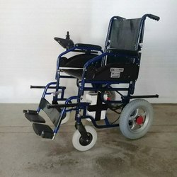 Motorized Transporter Powered Wheelchair With Manual Lifting Option