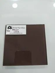 Choco Brown Back Painted Lacquered Glass
