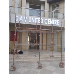 Outdoor ACP Cladding, Usage/Application: Signboard And Letter Sign