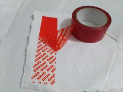 Security Tamper Evident Void Tape