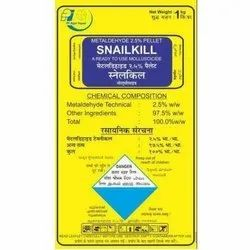 Metaldehyde 2.5% Pellet Snailkill Molluscicide, For Agriculture, Packaging Type: Packet