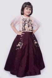 Kid's Designer Gown
