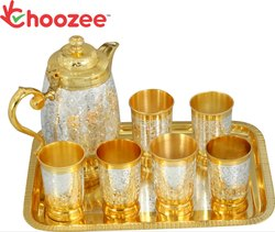 Brass 8 Pieces Lemon Set