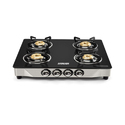 Black Eveready Tgc 4b Dx 4 Burner Manual Gas Stove