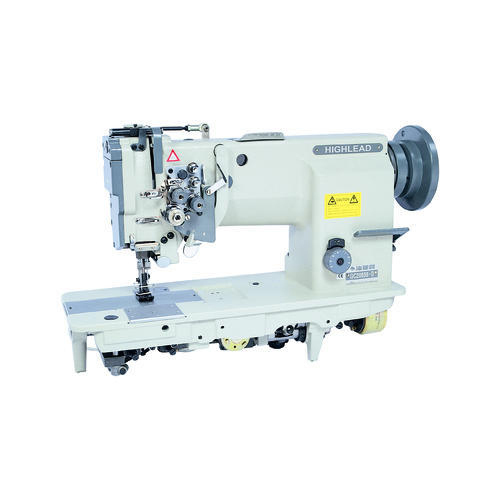 Automatic Highlead Two Needle Industrial Sewing Machine ID Custom Highlead Sewing Machine