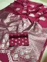 Lychee Silk  Saree