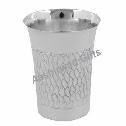 Silver Fancy Glass with BIS Hallmarking
