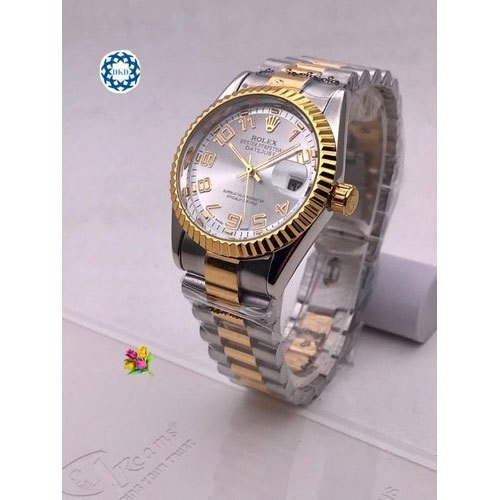 8fdd7c31a24 Mens Wrist Watch - Men's Rolex Oyster Perpetual Datejust Wrist Watch ...