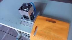 D Cut Punching Machine For Non Woven Bag Making