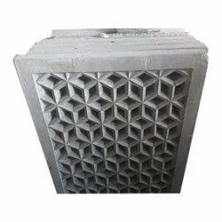 Rectangular Decorative Cement Grill