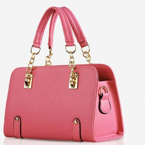 b9b762821659 ... Leather Handbags Shoulder Bag Girl Totes Bags Sweet Handbags Korean Fashion  Ladies Bag Package Diagonal  Stylish Ladies Bag official photos fcd2d dd734  ...