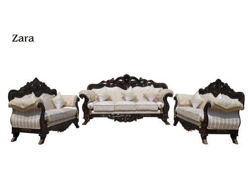 Teak Wood Antique Zara Sofa Set