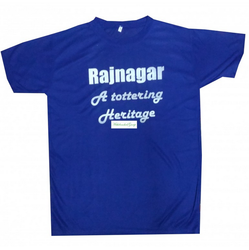 MGTHRBT Blue T Shirt With Theme