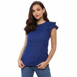 Yash Gallery Women's/Girls Rayon Top