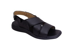Formal, Daily Wear Men's Casual PU Sandals - A18, Size: 6,7,8,9,10