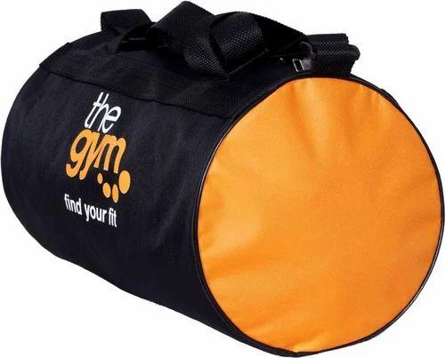 Black And Orange Plan Topware Trendy Gym Bag ( Black bce87c3edcbe1