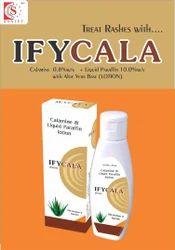 Calamine 8.0% w/w   Liquid Paraffin 10.0% w/w