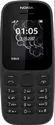 Nokia 105 (Dual SIM, Black) Mobile
