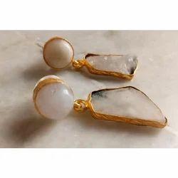 Rough Gemstones Earrings